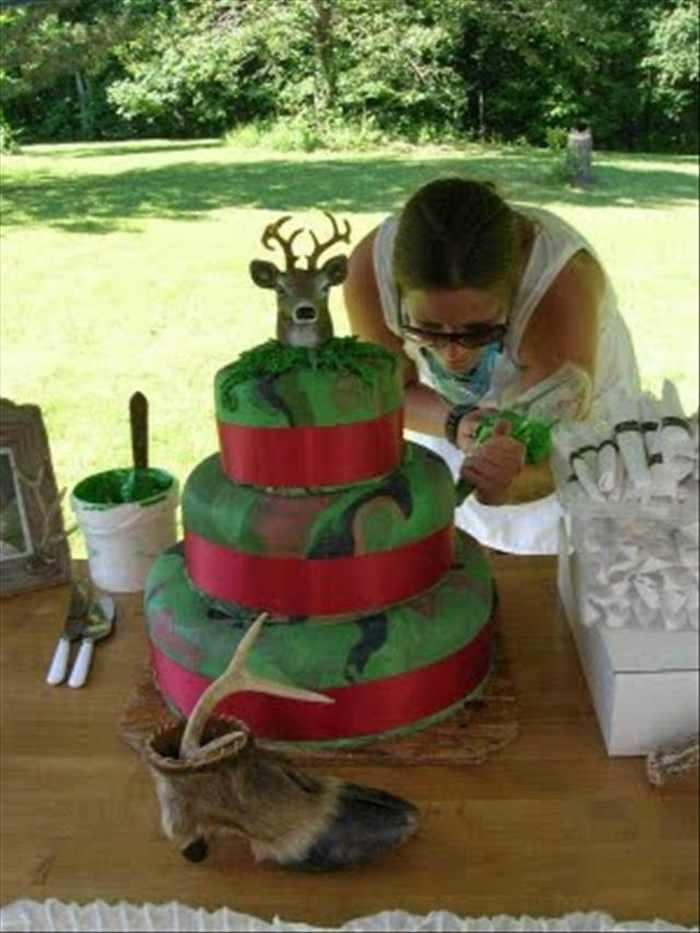 Это точно можно есть?! 10 причудливых праздничных тортов, созданных для особого случая рис 3