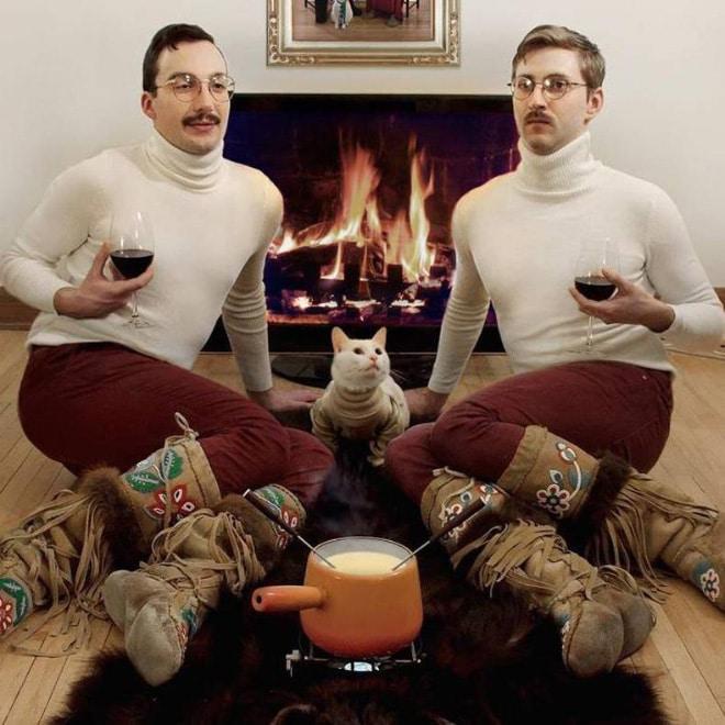 два брата и кот
