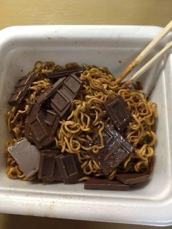 паста с шоколадом