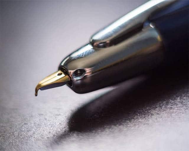 ручка в форме птицы
