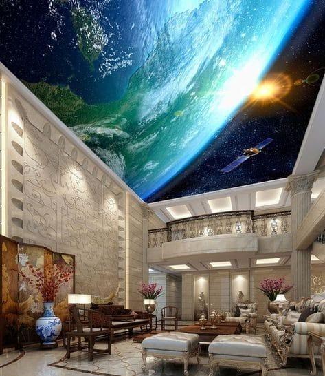 космический потолок