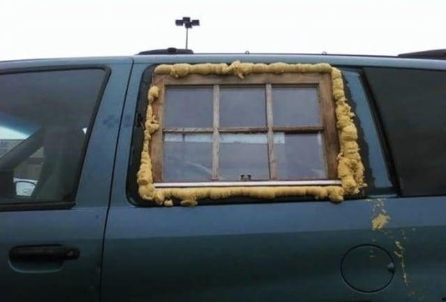 окно в авто