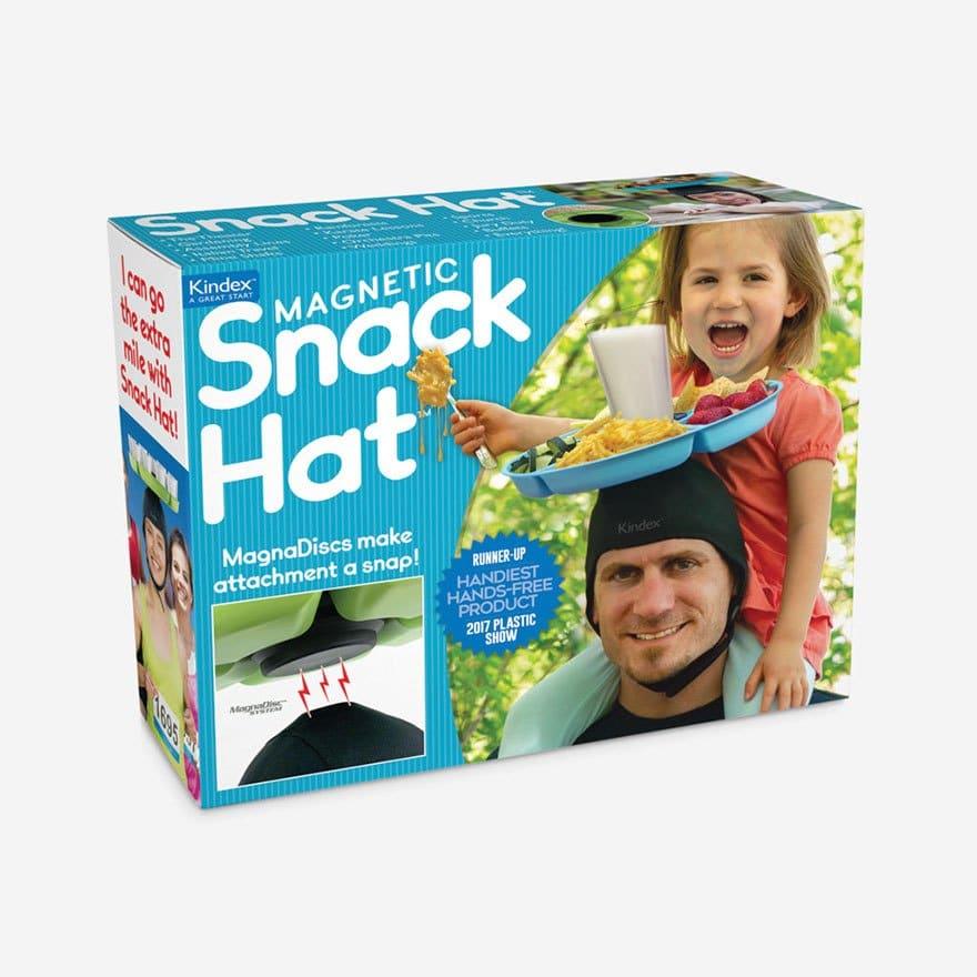 шапочка с тарелкой для пап