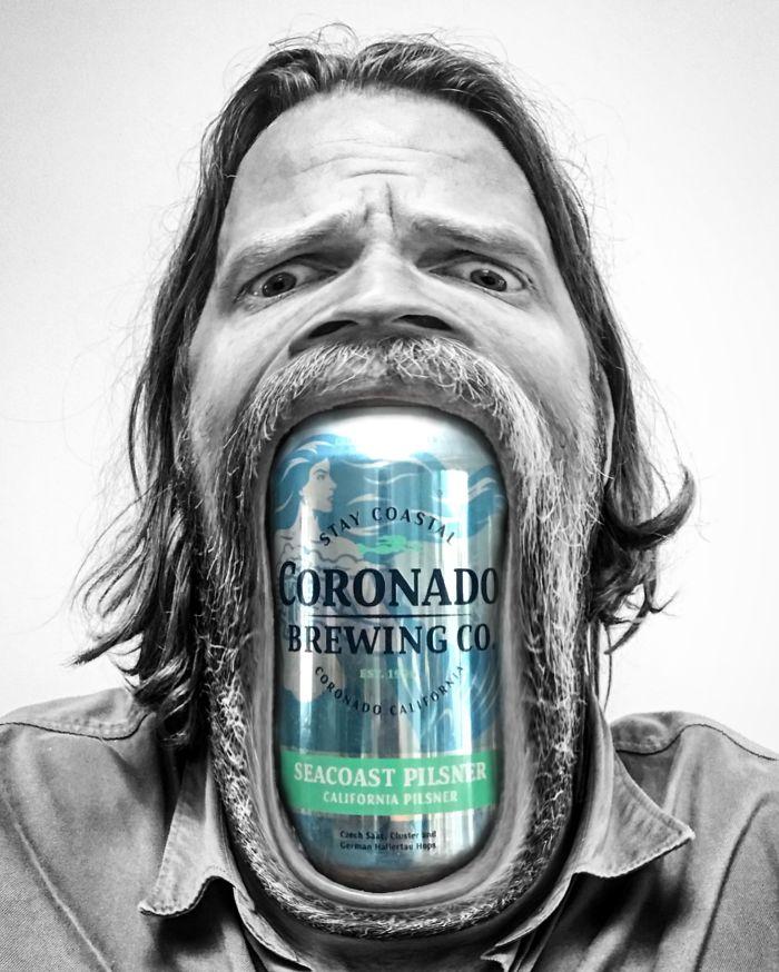 Пиво во рту