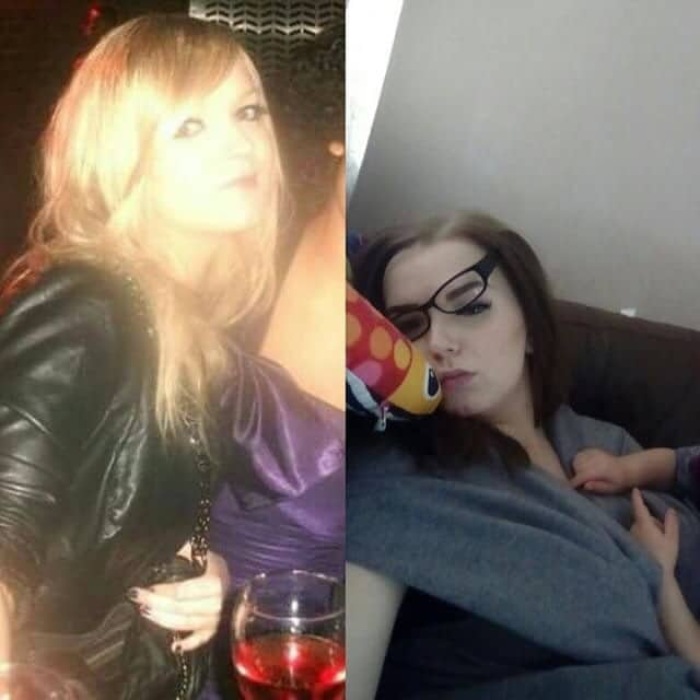 девушка раньше и теперь