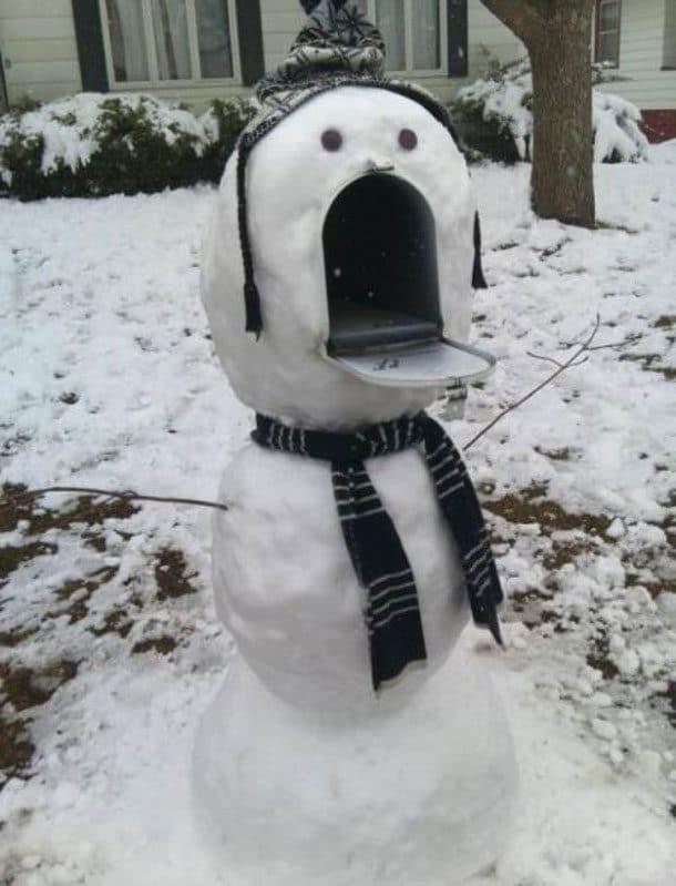 Снеговик-почта