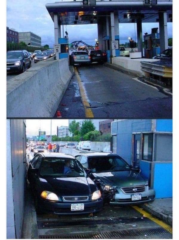 машины застряли в проезде