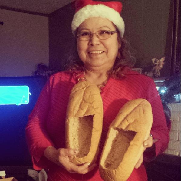 тапочки из хлеба