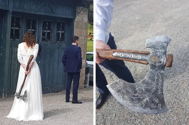 невеста с топором