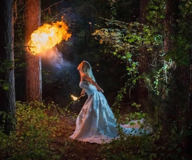 невеста с огнем