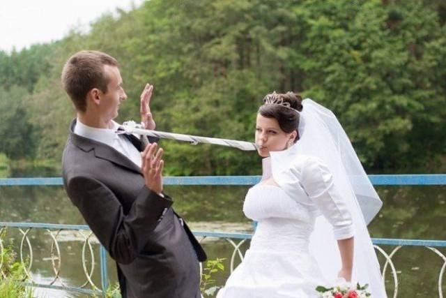 Свадебные фотографии людей, которые любят нестандартный подход во всём! Часть 2 рис 7