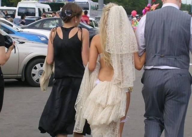 Свадебные фотографии людей, которые любят нестандартный подход во всём! Часть 2 рис 8