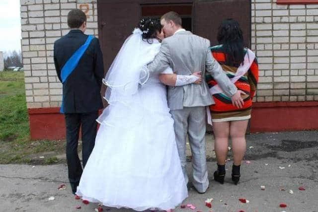 Свадебные фотографии людей, которые любят нестандартный подход во всём! Часть 2 рис 9