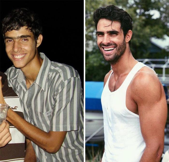 парень спустя 10 лет