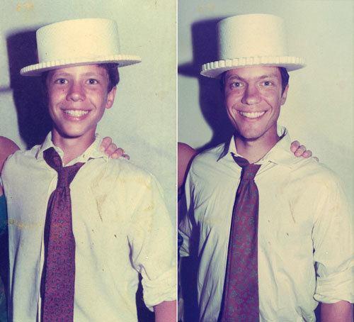 парень в белой шляпе