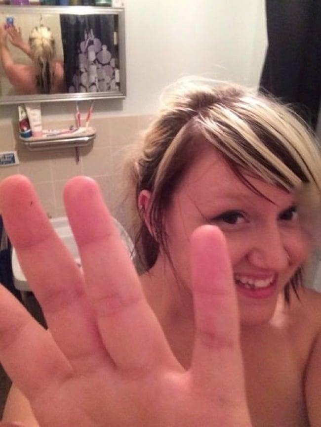 фото в ванной