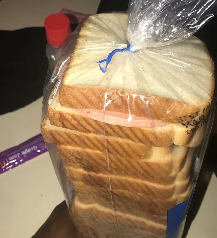 пачка хлеба