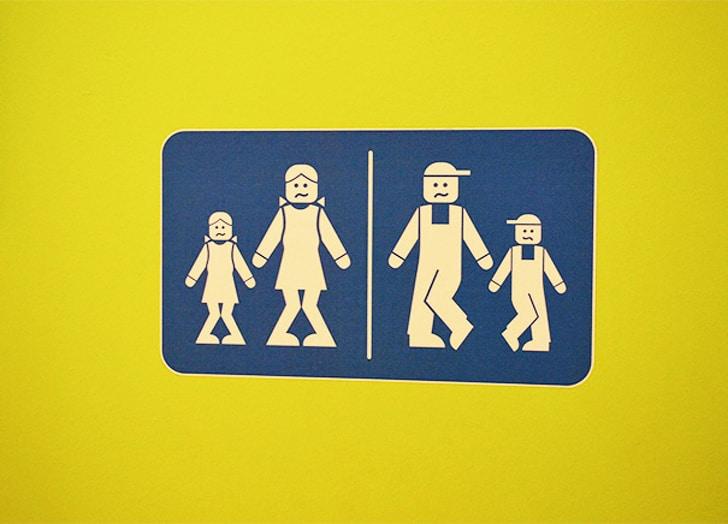 туалет в леголенде