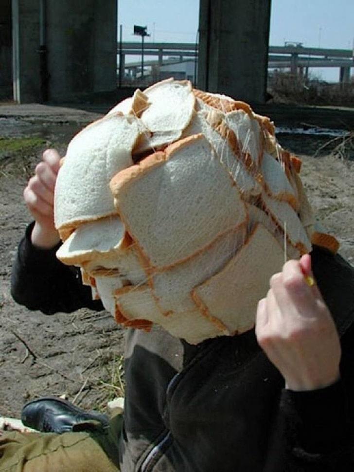хлебная маска