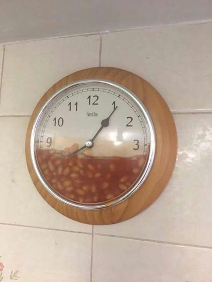 необычные часы