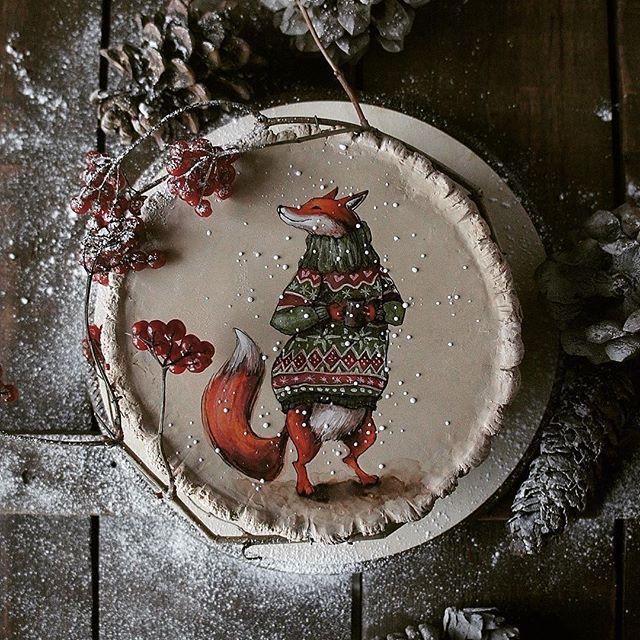 Торт с лисицей