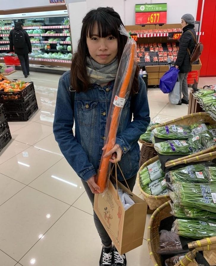 длинная морковка