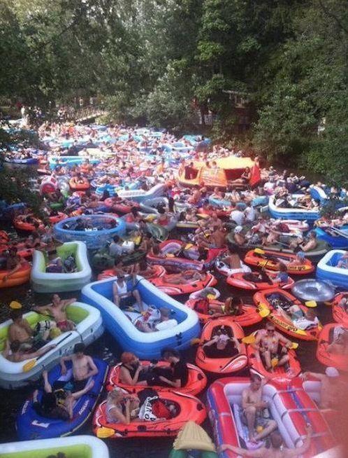 множество лодок