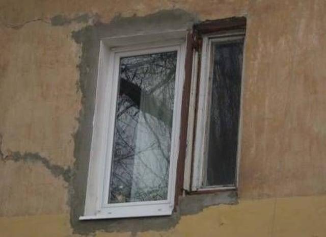 странное окно в доме