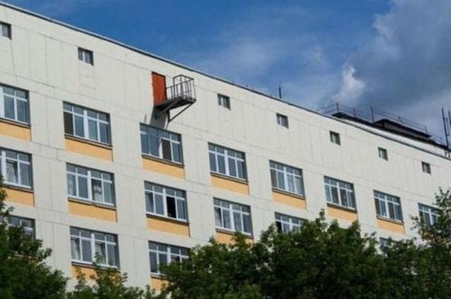 странный балкон