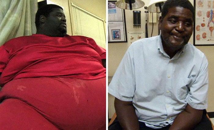 Мужчина на диете: фото до и после
