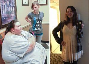 Фото женщины до и после похудения