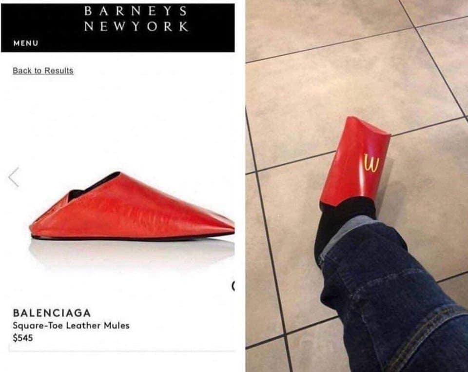 туфли баленсиага