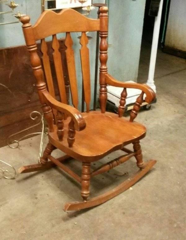 неудачное кресло-качалка
