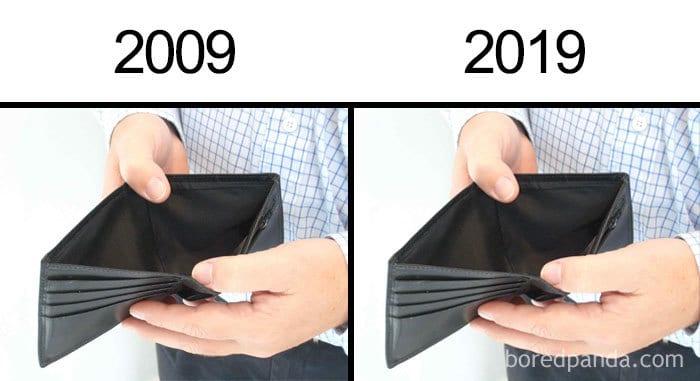 кошелек без денег