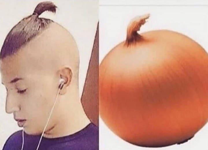 парень и луковица
