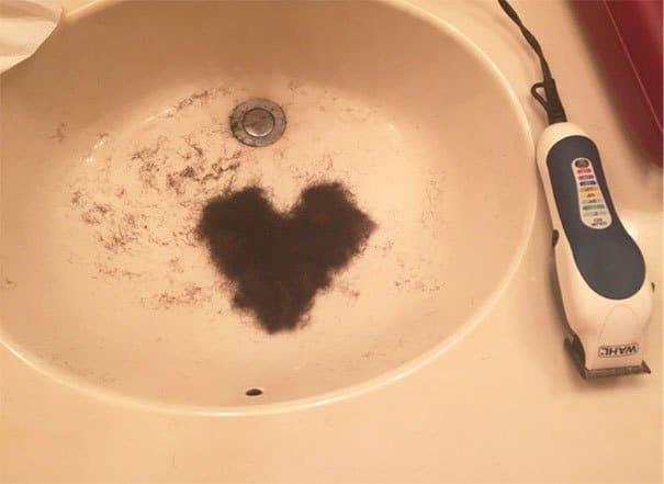 сердце из бороды