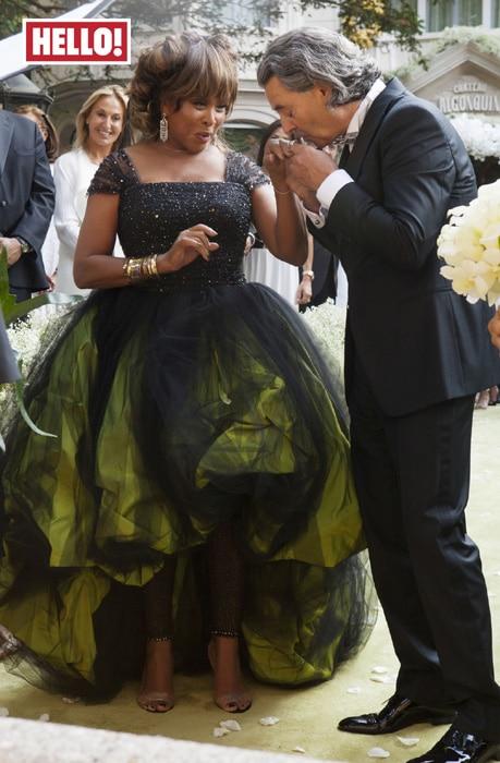 тина тернер на свадьбе