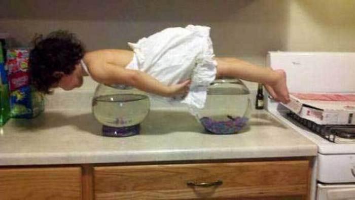12 доказательств того, что жизнь с детьми - то ещё веселье! :)