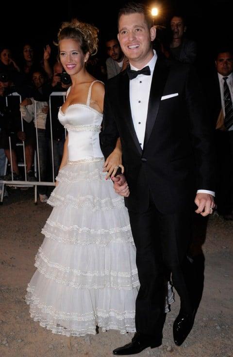 луисана лопилато в свадебном платье
