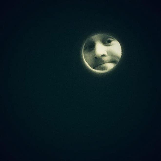 луна селфи парня