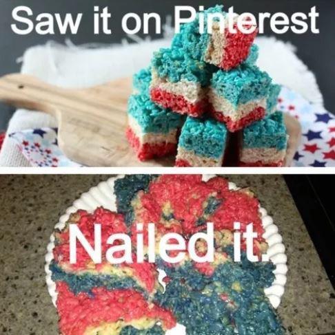 Мини-пирожные из рецепта и их неудачное приготовление