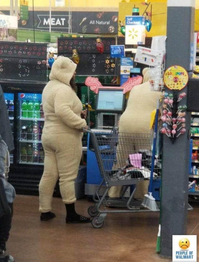 покупатели в пижамах