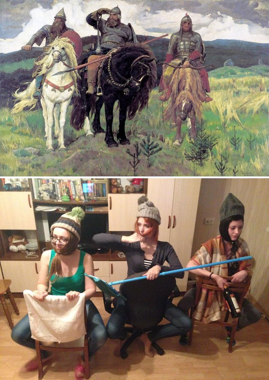 васнецов три богатыря