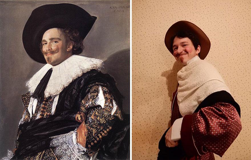 улыбающийся кавалер франц хальс