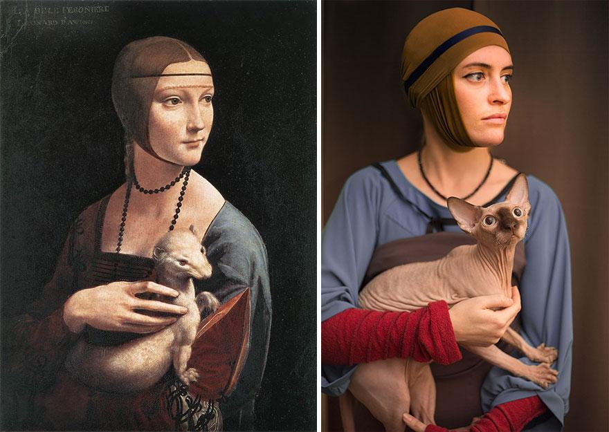 дама с горностаем
