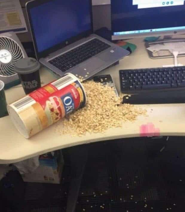 рассыпался попкорн