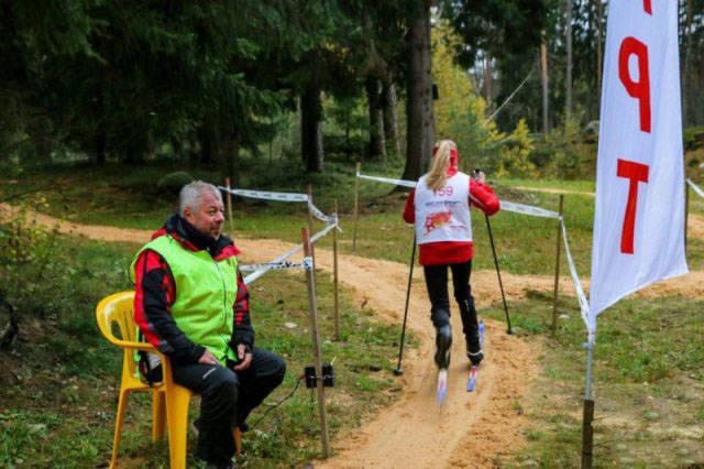 тренировки в лесу