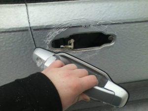 ручка от дверцы машины