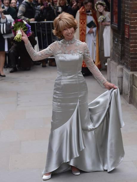 хелен ворт в свадебном платье