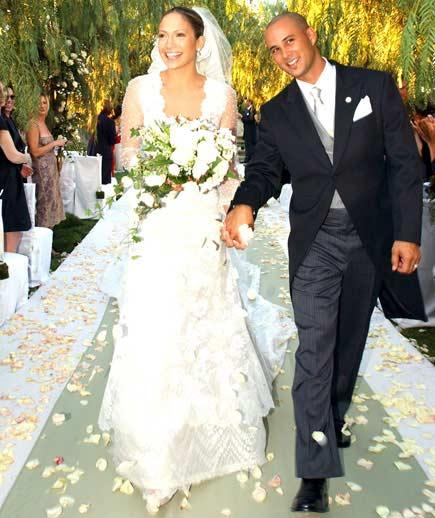 дженнифер лопес в свадебном платье